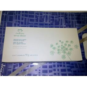 Caixa De Sabonetes Erva-doce Natura 3 Unidades