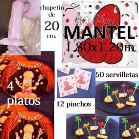 Kit Despedida De Soltera Combo Mesa Cotillon Fiesta Oferta