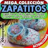 Zapatitos Para Bebé Patrones Revistas Zapatillas Crochet