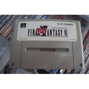 Final Fantasy 6 -3 Português Original Super Nintendo Famicom