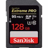 Sd Sandisk 128gb Extreme Pro Sdxc Uhs-i V30 4k (nuevo)