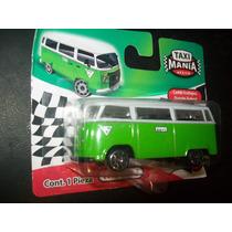 Gcg Combi Vw Verde Carro Coche Auto Taxi Mania Mexico