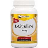 L Citrulline 750mg 90 Caps Mejora Erecciones Naturalmente
