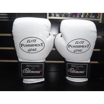 Par De Guantes Box Piel Sintet Boxing Gear Palomares Genuino