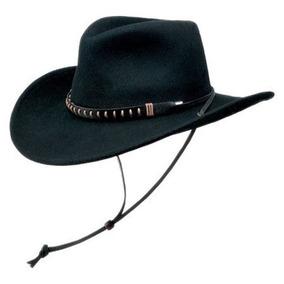 Gorra Lana Crushable Negro Hombres Creek Sombrero De Fieltr 9d05676e0e3
