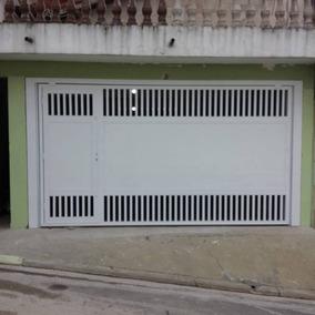 Portão Basculante Em Alumínio 220x200