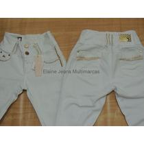 Calça Branca Afront Jeans Estilo Pitbull Levanta Bumbum