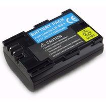 Bateria Lp-e6 1800mah Para Câmera Digital Canon 5d, 60d, 7d