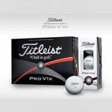 Bola De Golfe Titleist Pro V1x 2017 12 Unidades Frete Grátis