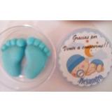 Souvenirs Nacimiento, Baby Shower, Bautismo, Piecitos,
