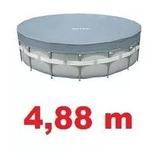 Capa Piscina Intex Estrutural 4,88 Cm 488 M 19154 L 19156 L