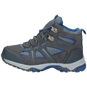 Zapatillas Outdoor Niños Blacksheep Hiking Acero Azul-1589