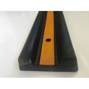 Topes Para Estacionamiento De Hule Macizo De 100cmx15x5