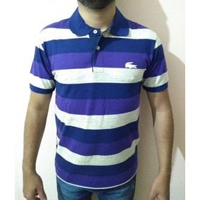 a6ec5f1445243 Camisa Pólo Branca Lacoste Tamanho Médio Equivale Ao 3 - Camisas no ...