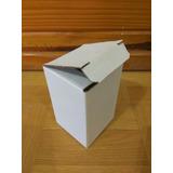 10 Cajitas De Carton Blancas