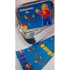 45 Marmitas + 45 Caixinhas De Acrílico Personalizadas