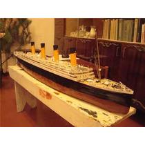 Espetacular Papercraft Lendario Navio Titanic Escala 1:200