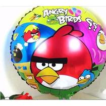 Balão Metalizado Angry Birds - Kit C/ 10 Balões