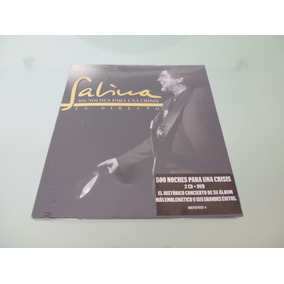Sabina / 500 Noches Para Una Crisis / 2 Cd +1 Dvd