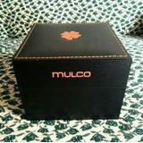 Caja De Reloj Mulco 100% Original De Madera