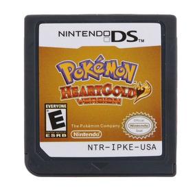 Pokémon Heartgold Inglês Americano Nintendo Ds 3ds 2ds