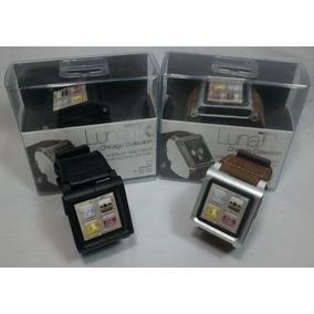 Pulseira Relógio Lunatik Chicago Para Ipod Nano 6 + Pelicula