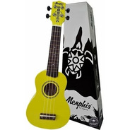 Ukulele Acústico Soprano Tagima Memphis Honu Amarelo