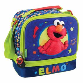 Lonchera Para Niño De Elmo Plaza Sesamo