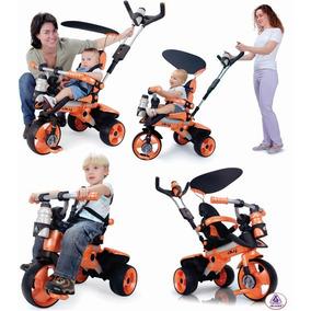 Triciclo Montable Evolutivo City Trike +6 Meses Bebe / Niño