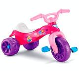 Triciclo Fisher Price Barbie Niña Bebe Moto Rosado 24horas