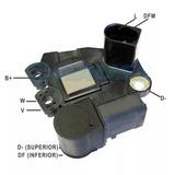 Regula Voltagem Gol Polo Fox 1.0 1.6 2003 C/ac Up 2013 Ga980