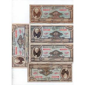 Billetes Antiguos México - 1960 100 Pesos Hidalgo S9
