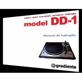 Manual Do Toca-discos Gradiente Dd-1 (cópia)