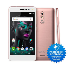 Celular Libre Quantum Fit 16gb Quad-core Android 7 Nuevo Mod