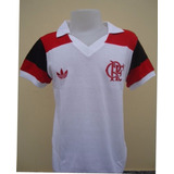 Camisa Flamengo Retro 1981 Zico Libertadores Mundial #10 Zic