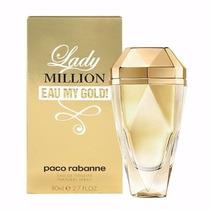 Perfume Paco Rabanne Lady Million Eau My Gold 80ml