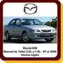 Mazda 626 Manual Taller Reparación Sensores 2.0 1.8 97 A 05