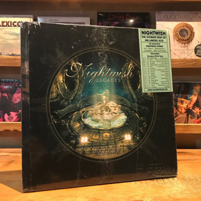 Nightwish Decades An Archive Of Song 1996 2015 Earbook 2 Cds