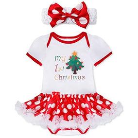Niña Iiniim Mi Primer Traje De Navidad 2pcs Set Tutú Falda