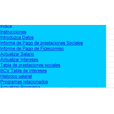 Cálculo Prestaciones Sociales Lottt Octubre 2017