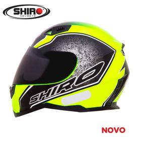 Capacete Shiro Sh-881 Byte - Super Lançamento