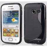 Capa Tpu Silicone Celular Galaxy Ace Duos S6802 Pelicula