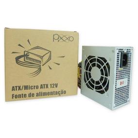 Fonte Mini Atx Pixxo Pl-200wrpbg 200w Real Bivolt
