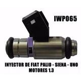 Inyector Fiat Palio Uno Siena 1.3 Aro Morado 1 Hueco