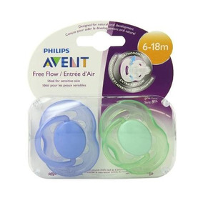 Set Chupones Ventilados Free Flow Philips Avent 6-18m Bebe