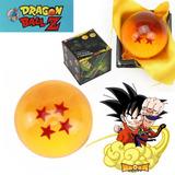 Bola De Dragón 4 Estrellas Dragonball, Cristal, En Caja 4 Cm