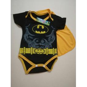Body Mameluco Disfraz Batman Bebé