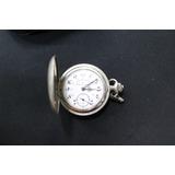Reloj Antiguo Ferrocarril De Antioquia Plateado