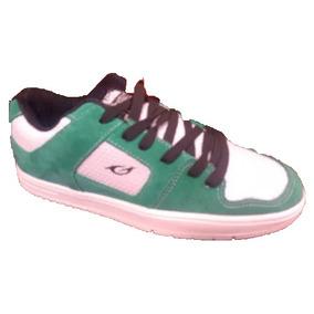 Zapatilla Gaelle 1125 Skater Blanca Verde
