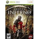 Dantes Inferno Xbox 360 Usado Original Midia Fisica